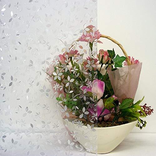 LMKJ Etiqueta de Vidrio de preservación estática 3D PVC película Decorativa para el hogar película para Ventana corredera Puerta y Ventana Etiqueta de Vidrio A45 60x100cm