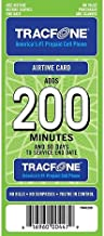 Tracfone 200 Minutes and 90 Days of Service - Refill, Top-Up, Pin Number - Prepaid Cell Phone Plan Airtime (Mail Delivery)