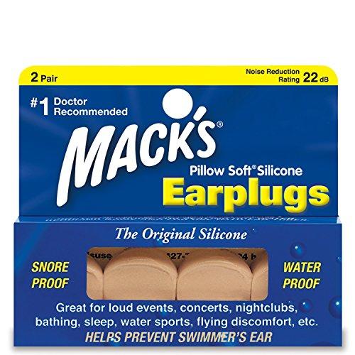 Macks Pillow Soft - Tapones para oídos Beige Beige Talla:2 Pares