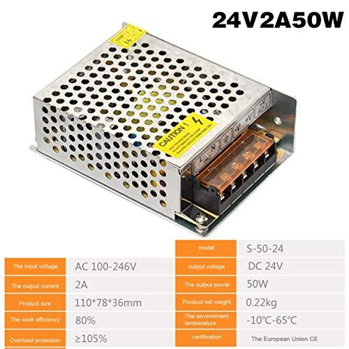 Schaltnetzteil DC24V 1A 2A 2.5A 3A 4.5A 5A 6.5A 8.3A 10A 12.5A 15A 16.5A AC 220V bis DC24V AC-DC 24V für 24V LED Strip-Silver (BCVBFGCXVB)