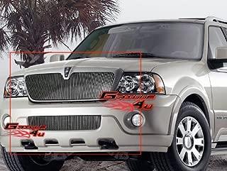 APS Compatible with 03-04 Lincoln Navigator Vertical Billet Grille Combo L67744V