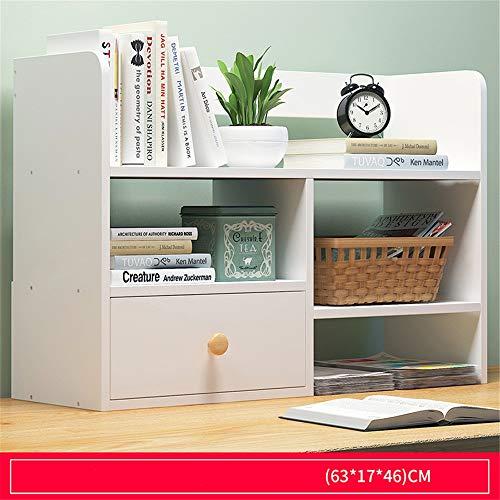 Make-uptafel voor boekens, van massief hout, voor op het bureau, voor scholieren en boeken, boeken, met schuiflade, display