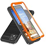 Thonzer Google Pixel 4 XL Case, Pixel 4 XL Case, with 9H Tempered Glass Screen Protector & Easy…