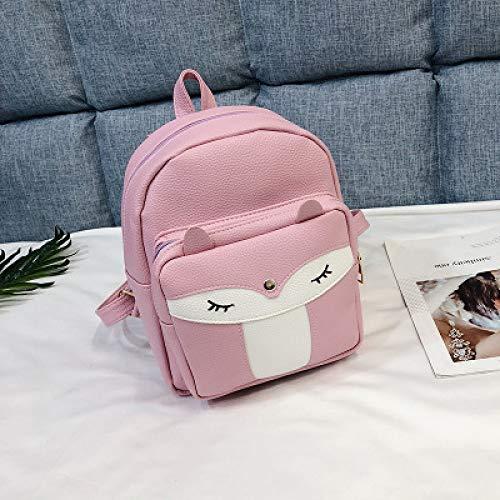 2019 Neue Großhandel Kleine Fuchs Rucksack Persönlichkeit Mode Damen Tasche Trend Wild 4 26 * 21 * 10 Cm