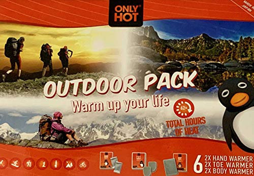 Only Hot Outdoor Pack 6 Chauffe Mains Pieds Corps Voyages