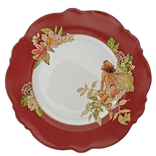 FLOWER FAIRIES Hadas de Las Flores jazmín Placa Decorativa, cerámica, Multi, 20x 200x 200cm