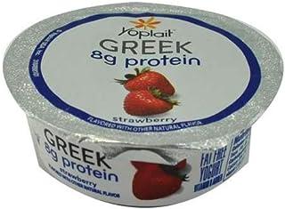 Yoplait Greek Protein Yogurt 3.5 ounces (Pack of 24) (Strawberry)