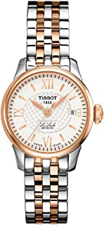 Tissot womens Le Locle Stainless Steel Dress Watch Rose Gold 5N,Grey T41218333
