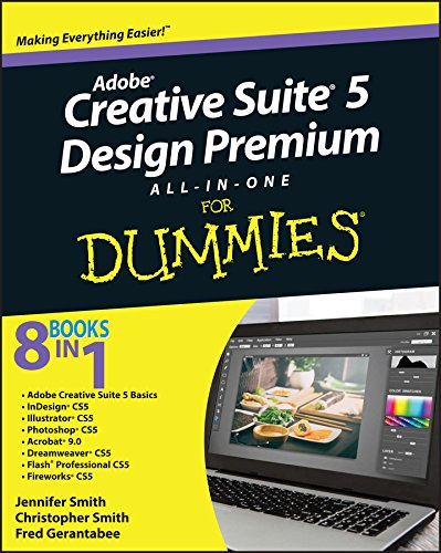 Adobe Creative Suite 5 Design Premium All-in-One For Dummies (English Edition)