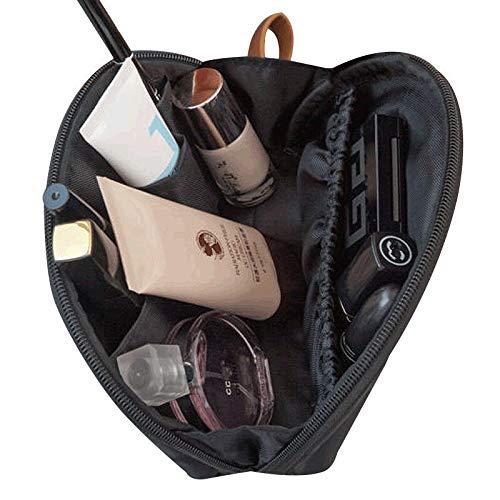 Cosmetic Bag Shell reiskoffer voor onderweg met de toilettas uit Koreaanse toilettas kleur vrouwen mini tas Oranje.