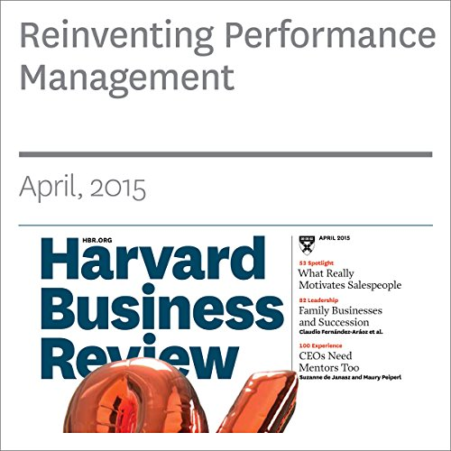 Reinventing Performance Management audiobook cover art