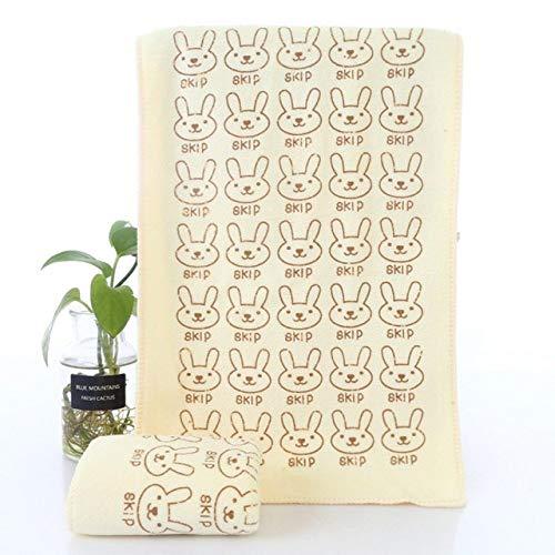 WLQCPD Toalla,Toallas de algodón para bebés Toallas de baño con Estampado de corazón Animal Lindo de Dibujos Animados para bebés Toallas de baño para bebés Toallas de algodón para bebés,