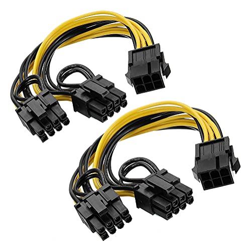 Xhwykzz 6 pines PCIe-2 x PCIe 8 (6 + 2) pines placa...