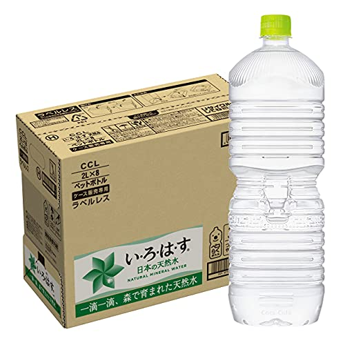 [Amazon限定ブランド]CCL い・ろ・は・すラベルレス 2LPET ×8本