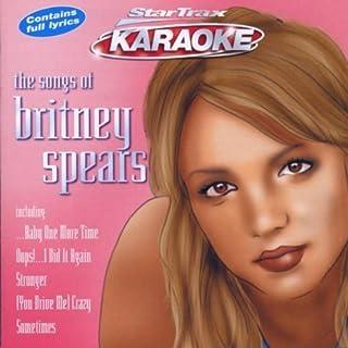 The Songs Of Britney Spears by Karaoke (2001-10-15)
