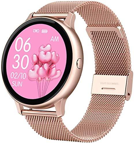 Reloj inteligente profesional para mujeres y hombres, monitor de frecuencia cardíaca, oxígeno en sangre, monitor de fitness DT88Pro para iOS y Android Phone-C.