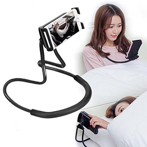 EUROXANTY® Supporto Collo 360 ° Cellulare Collo Halter collo Lazy Supporto Girevole a collo di cigno supporto da tavolo per iPhone iPad Smartphone