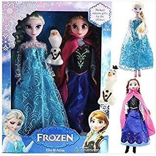 Frozen Doll Anna Elsa Princess Doll