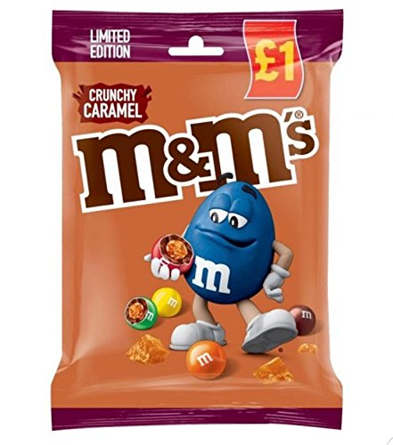 M & M's Crujiente Caramel Edición Limitada Bolsa 80g