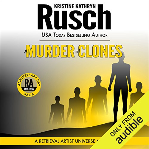A Murder of Clones audiobook cover art