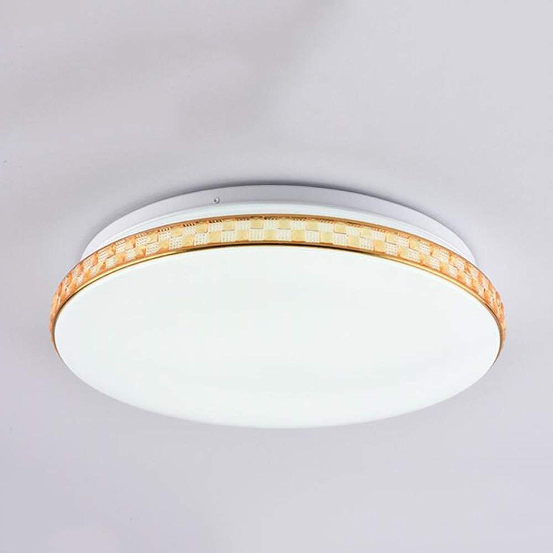 FuweiEncore Decke Licht LED Rund Eisen Acryl Personalisierte Kreativ Moderne Minimalistische Schlafzimmer Wohnzimmer Energieeinsparung (Farbe   -, Gre   Small)