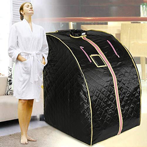Infrarot Sauna,Mobile Sauna,Heimsauna tragbar,Heimsauna,Portable Infrarotsauna,für 1 Person,Sauna Box Indoor Folding,SPA Tragbare Heizung 1000W,fördern Sie die Durchblutung, halten Sie den Körper gesu