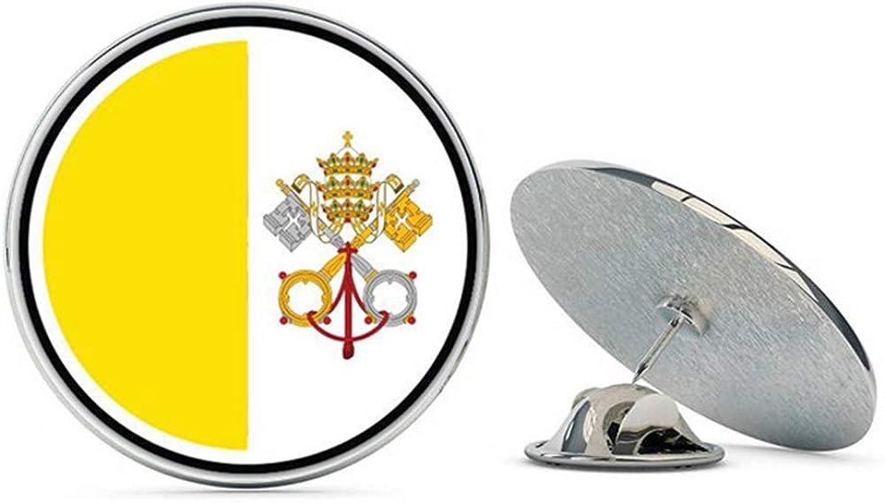 NYC Jewelers Vatican City Flag Metal 0.75