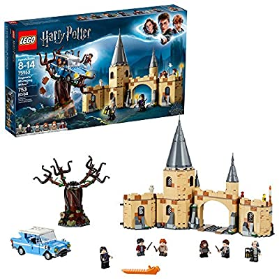LEGO Harry Potter and The Chamber of Secrets Hogwarts Whomping Willow 75953 Magic Toys Building Kit, Prisoner of Azkaban, Hedwig, Hermoine Granger and Severus Snape (753 Pieces) from LEGO