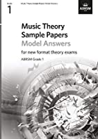 Music Theory Sample Papers - Grade 1 Answers (Theory of Music Exam papers & answers (ABRSM))