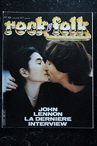 ROCK & FOLK 168 JOHN LENNON TRUST VALERIE LAGRANGE PAUL SIMON MOTORHEAD