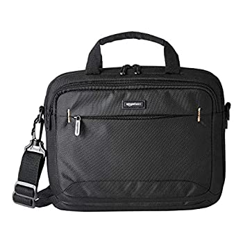Amazon Basics 11.6-Inch Laptop and iPad Tablet Shoulder Bag Carrying Case Black 1-Pack