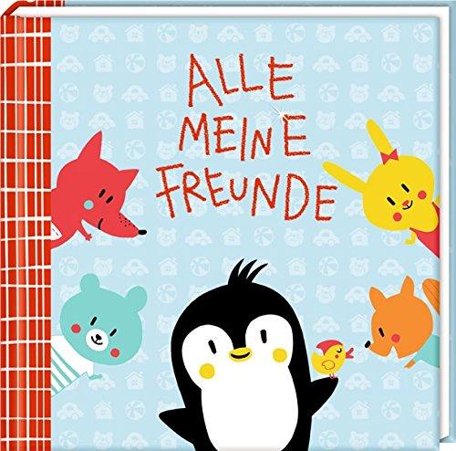 Freundebuch - Alle meine Freunde - Pinguin