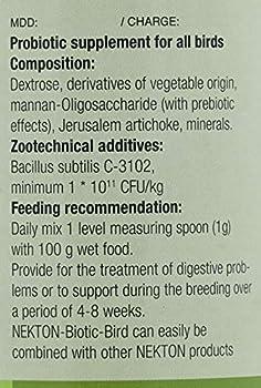 Nekton Biotic Bird Lot de 1 Bouleau 50 g