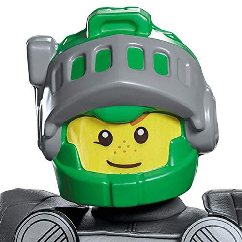 Lego Maske, Nexo Aaron, für Kinder, Kostüm-Zubehör