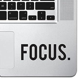 "Focus Sticker Decal MacBook Pro Air 13"" 15"" 17"" Keyboard Keypad Mousepad Trackpad Laptop Retro Vintage Motivational Text Q..."