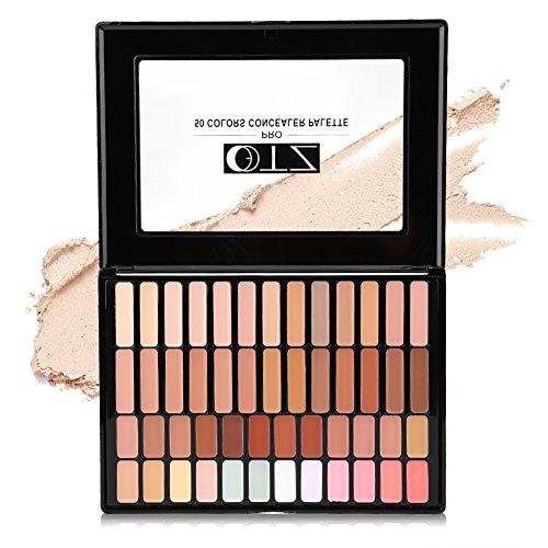 50 couleurs Concealer Housse Crème Camouflage Palette, Peau, sur Heller aufhellung Concealer Palette de maquillage beauté Set