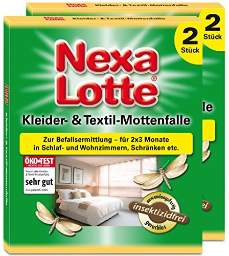 Nexa Lotte Kleider- & Textil-Mottenfalle - 4 St.