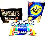 S'mores Kit, Everything You Need, 2 PACKAGES OF HERSHEY'S CHOCOLATE BARS (12 full size bars), 1 BAG...