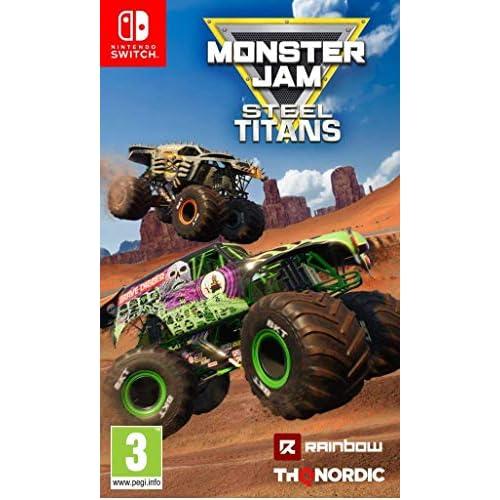 Monster Jam - Steel Titans - Nintendo Switch