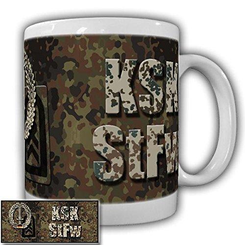KSK StFw Barettabzeichen Schwert Deutsche Bundeswehr Militär DstGrd Dienstgradabzeichen Tasse #20914