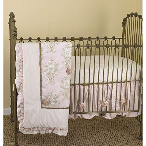 lollipops and Roses 3 Piece Crib Bedding set by Cotton Tale Designs