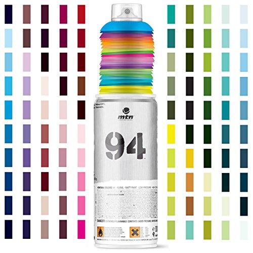 Montana London Grey MTN 94 Spray Paint, 400-Millilitre Matt