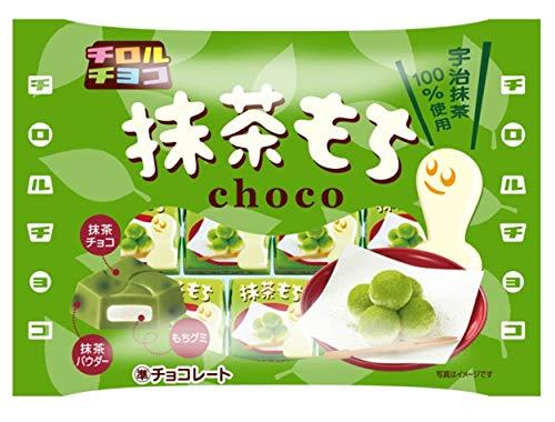 チロルチョコ『抹茶もち 袋』
