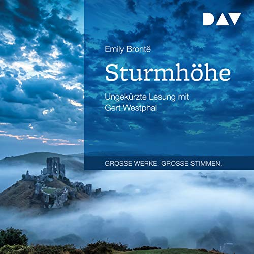 Sturmhöhe                   By:                                                                                                                                 Emily Brontë                               Narrated by:                                                                                                                                 Gert Westphal                      Length: 14 hrs and 21 mins     Not rated yet     Overall 0.0