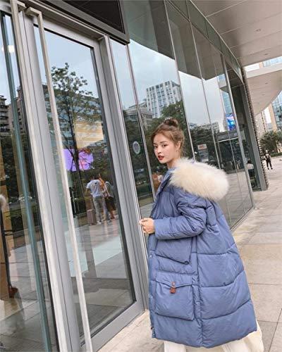 WFSDKN Donsjack Nieuwe Lange Parkas Vrouwelijke Womens Winterjas Dik Katoen Warm Jas Womens Outwear Parkas Plus Size Bontjas 2019
