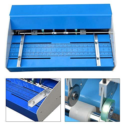 """Elektrische Nutmaschine Rillmaschine Rillgerät Perforating Falzmaschine 18""""460mm"""