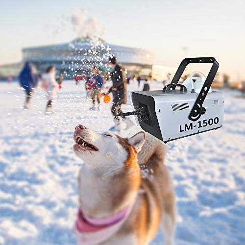 Shuifeng Snow Making Machine, 3 Modelli Snow Machine Outdoor, 1500W Snow Machine Wireless Remote Fiocchi di Neve Che Cadono Finti Effetto per Feste a casa