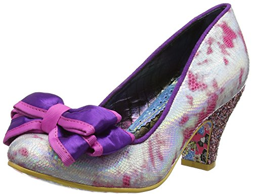 Irregular Choice Damen Ban Joe Pumps, Pink Pink Multi Ac, 38 EU