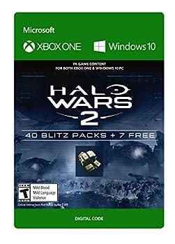 Halo Wars 2  47 Blitz Packs - Xbox One / Windows 10 Digital Code