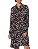 edc by ESPRIT Damen 120CC1E312 Kleid, 003/BLACK 3, 38